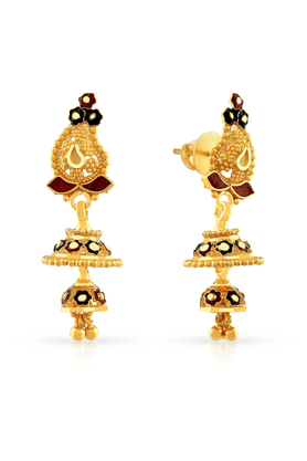MALABAR GOLD AND DIAMONDS Womens Malabar Gold Earrings - 201594440