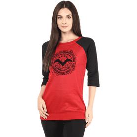 THE VANCAWomen Terry Fleece Sweatshirt