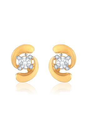 MAHIMahi Gold Plated Birdie Earrings With CZ For Women ER1109138G