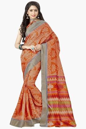 DEMARCAWomens Silk Designer Saree - 202338178