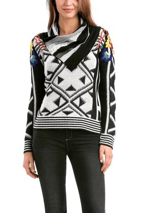 DESIGUALWomen Printed Sweater