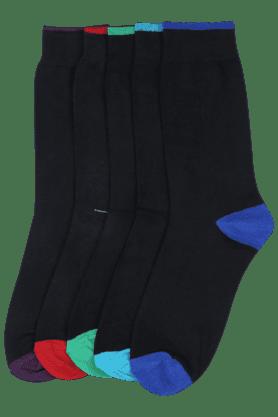 STOPMen Printed Socks (Set Of 5) - 8933434