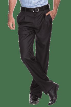 LOUIS PHILIPPEMens Flat Front Slim Fit Solid Trouser
