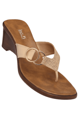 INC.5 Womens Daily Wear Slipon Wedge Chappal