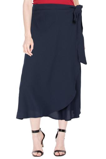 FRATINI -  Navy Skirts - Main