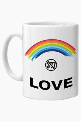CRUDE AREA Multi Color 377 Printed Ceramic Coffee Mug  ...