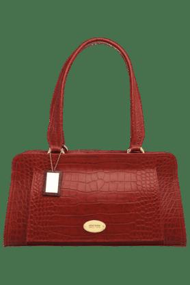HIDESIGNWomens Orsay Textured Leather Zipper Closure Hobo Handbag