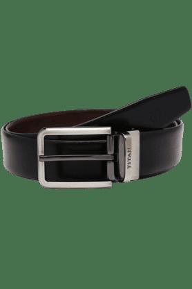TITANMens Mix Formal Leather Belt