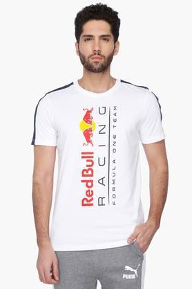 PUMAMens Round Neck Short Sleeves Printed T-Shirt - 201583841