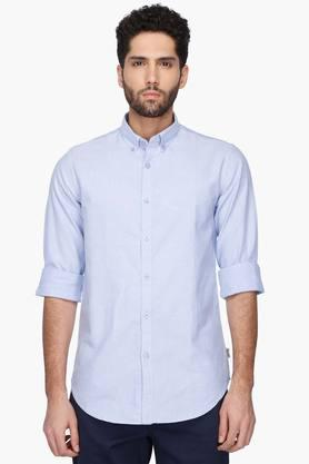 Kenneth Cole Formal Shirts (Men's) - Mens Solid Button Down Collar Shirt