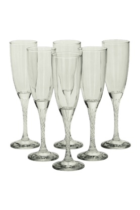 Twisted Champagne Flute