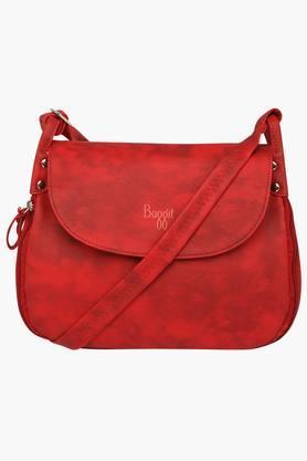 Womens Sherry Snap Closure Sling Bag