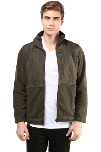 Mens Polar Fleece Full Sleeves Jacket