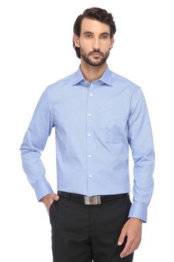 LOUIS PHILIPPE -  Mid BlueShirts - Main
