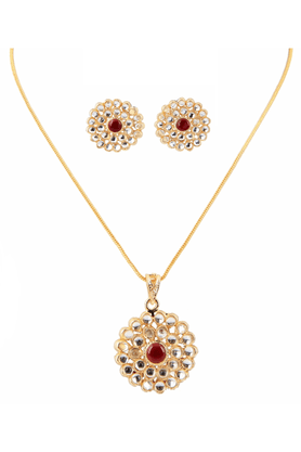 TOUCHSTONE Necklace Set - 8616764