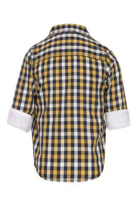 Boys Checked Shirt with Tee