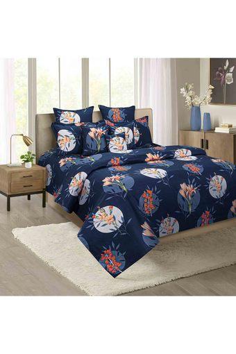 SWAYAM -  Light BlueSingle Bed Sheets - Main