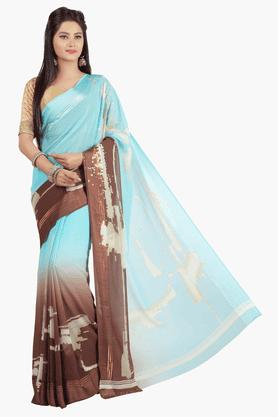 JASHNWomens Colour Block Saree - 201502643