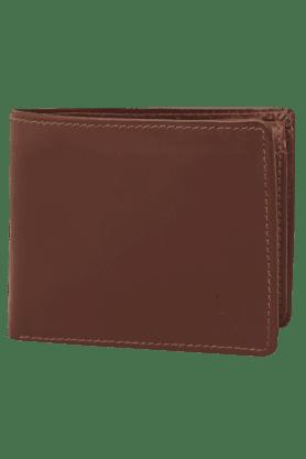 HIDESIGNMens Manhattan Leather 1 Fold Wallet