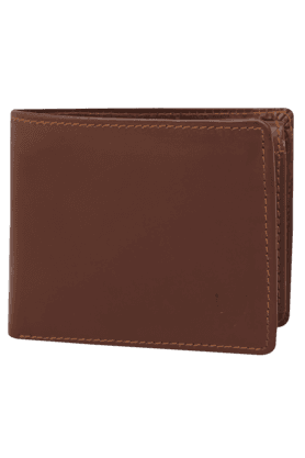 Mens Manhattan Leather 1 Fold Wallet