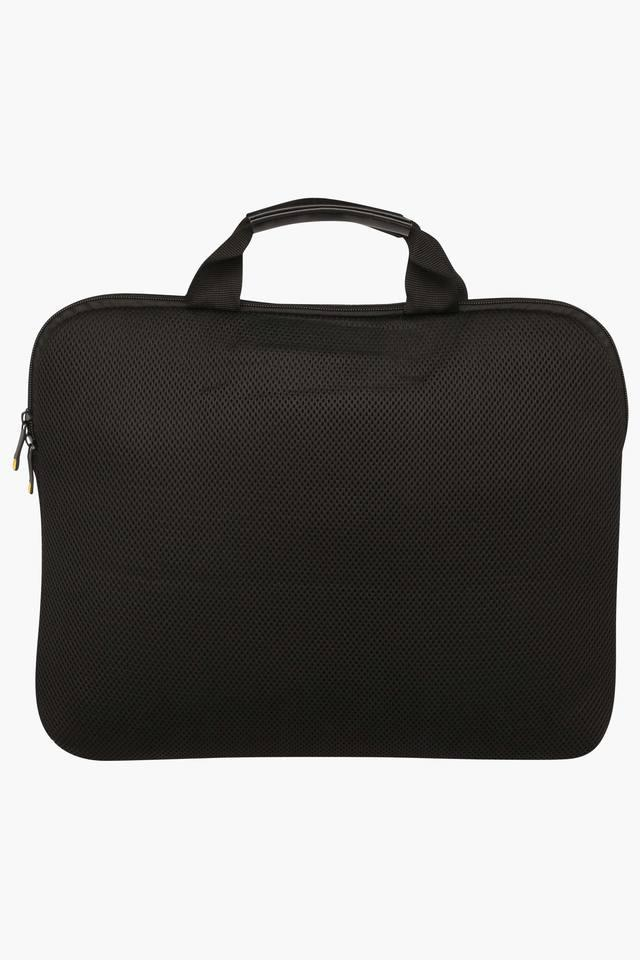 Unisex Zipper Closure Laptop Briefcase