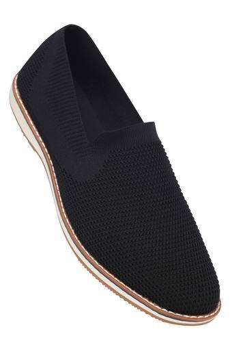 ALLEN SOLLY -  Black Casual Shoes - Main