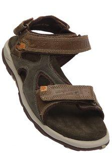WOODLAND Mens Leather WDL PP Split Sandal
