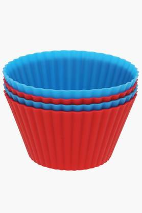 Silicon Extra Large Muffin Cups - Set of 4