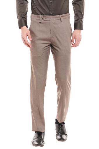 VAN HEUSEN -  BrownFormal Trousers - Main