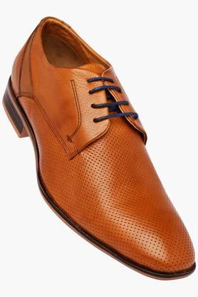 ALBERTO TORRESI Mens Leather Lace Up Derbys - 202951428