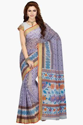 DEMARCA Women Cotton Blend Designer Saree - 202529101