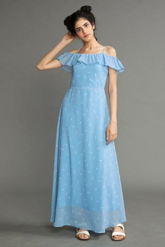 RHESON -  Blue Dresses - Main