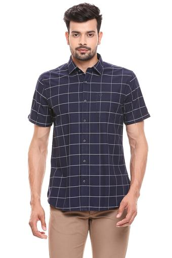 BLACKBERRYS -  Navy Casual Shirts - Main