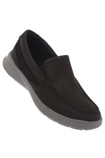 CLARKS -  Black Casual Shoes - Main