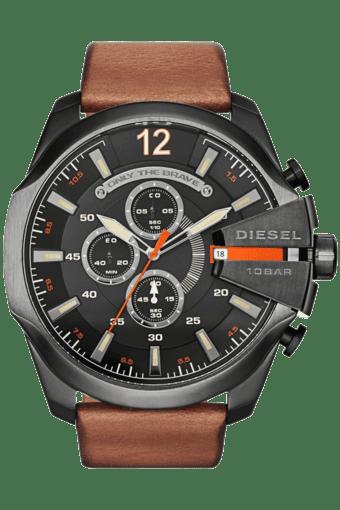 Mens Black Dial Watch Dz4343