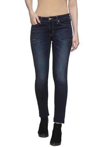 LEVIS -  Dark BlueJeans & Leggings - Main