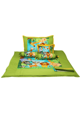 SWAYAM KIDS Kids Cotton Bed Sheet Set Single - Digital Print - 200688737