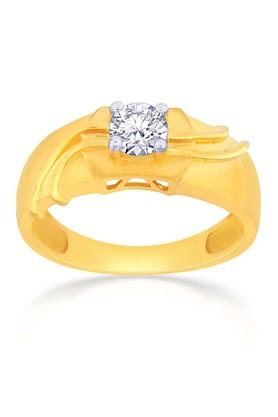 MALABAR GOLD AND DIAMONDSMens Gold Ring FRANDZ0069 Size 19