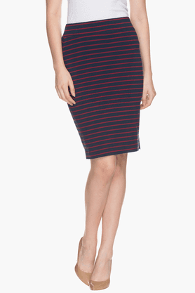 FRATINI WOMAN Womens Striped Skirt