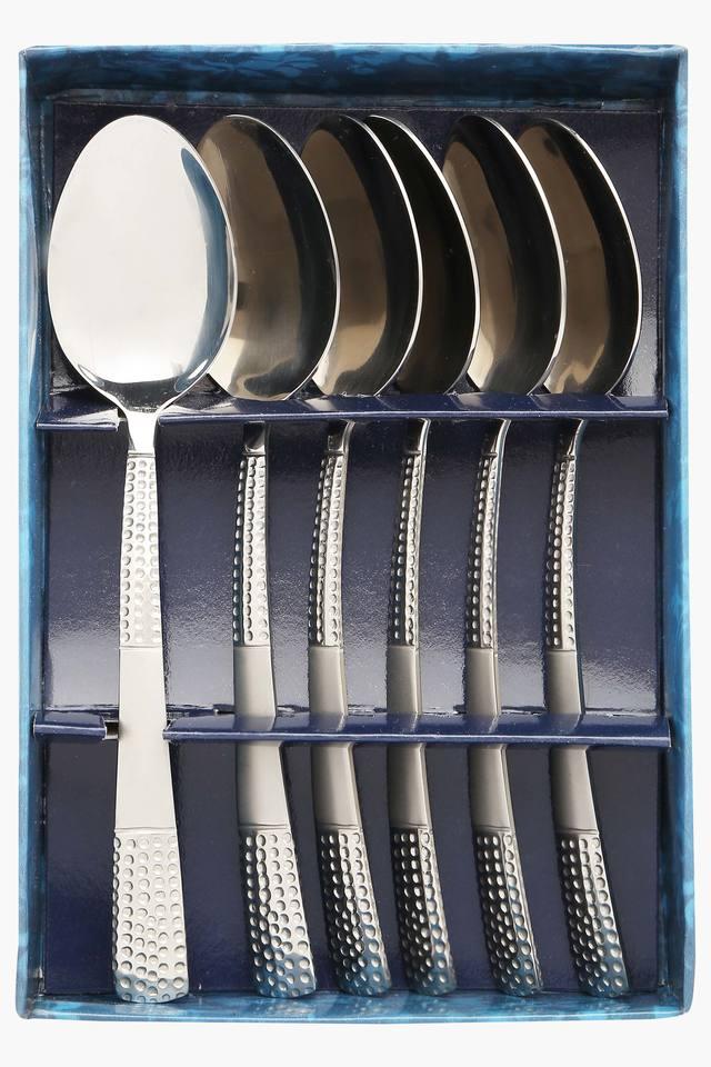 Zest Embossed Baby Spoon Set of 6