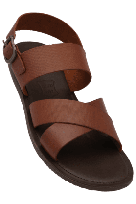 RED TAPE Mens Daily Wear Ankle Buckle Closure Sandal