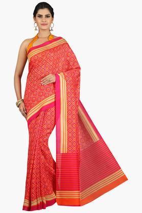 JASHNWomen Tussar Silk Printed Saree - 201860665