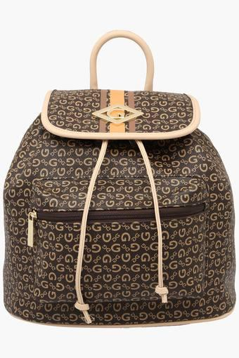 Womens Drawstring Closure Backpack
