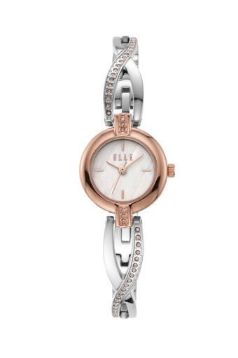 Womens Monge White Dial Stainless Steel Analogue Watch - ELL21017