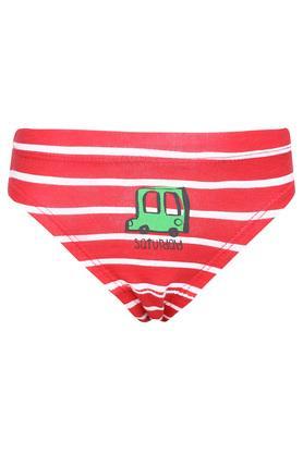 Boys Stripe Briefs Pack of 7