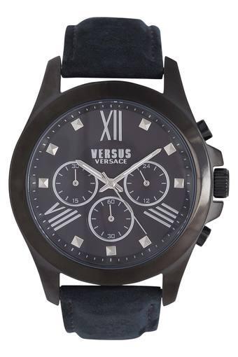 Mens Black Dial Chronograph Watch - SBH010015