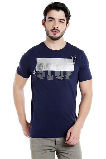 REX STRAUT JEANS -  Midnight Slub T-shirts - Main