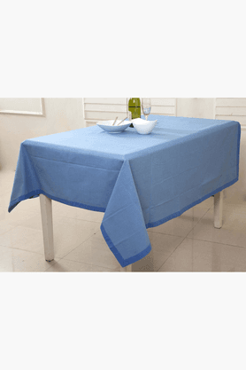 MASPAR Space Dyed Band Blue 6 Seater Table Cover