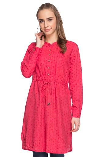 GLOBAL DESI -  Pink Kurtis & Tops - Main