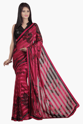 JASHN Womens Printed Saree - 201502519